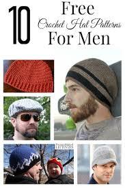 Free Mens Crochet Hat Patterns