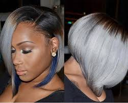 African American Bob Hairstyles 46 Best 24 Short Hairstyles For Black Women Pinterest Blue Highlights