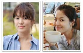 a woman with timeless elegant beauty is song hye kyo who had been por for her leading roles in numerous television dramas all throughout her career