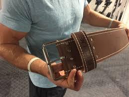 rogue ohio leather lifting belt review