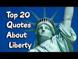 Liberty Quotes Beauteous Top 48 Famous Quotes About Liberty Freedom YouTube