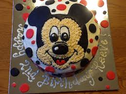 Mickey Mouse Cake For A 2 Year Old Boy Cupcakes And All Things