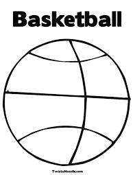 Coloring Pages Basketball Basketball Coloring Pages Photo 6 Sports