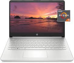 Amazon.com: HP 14 Laptop, AMD Ryzen 5 5500U, 8 GB RAM, 256 GB SSD Storage,  14-inch Full HD Display, Windows 10 Home, Thin & Portable, Micro-Edge &  Anti-Glare Screen, Long Battery Life (