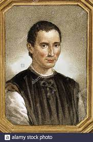 Portrait Of Niccolò Machiavelli Stockfotos und -bilder Kaufen - Alamy
