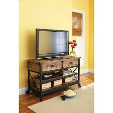 better homes and gardens tv stand. Better Homes And Gardens Rustic Country Antiqued Black/Pine Panel TV Stand For TVs Up Tv R