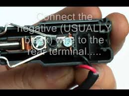 how to wire a car cigaretter lighter plug how to wire a car cigaretter lighter plug