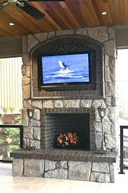 mounting tv above brick fireplace mounting above fireplace be equipped