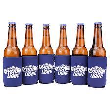 Keystone Light Bottles Sold Where Beer Brand Can Bottle Cooling Coozie 6 Pack Keystone Light Orange
