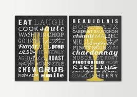 Wall Decorations For Kitchen Kitchen Decor Kitchen Signs Set Dining Room Wall Art