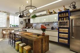 American Kitchen with Central Island