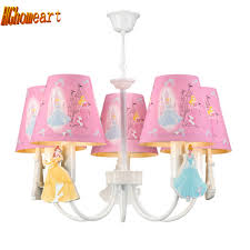 Hghomeart Kinderzimmer Led Rosa Kronleuchter Licht E14