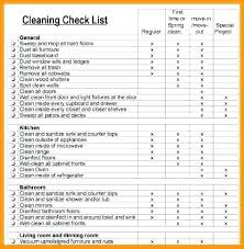 Apartment Move Out Checklist Move Out Form Template College