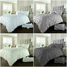 balm pleated pintuck duvet cover