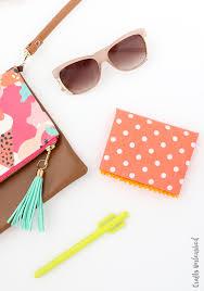 diy wallet consumer crafts