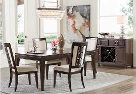 dark dining room furniture. plain furniture picture of sofia vergara santa clarita dark cherry 5 pc dining room from  sets and furniture