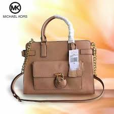 michael kors emma saffiano leather satchel preorder women s fashion bags wallets on carou