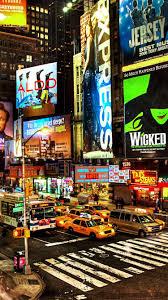 Times Square at night, New York, USA ...