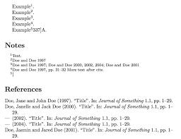 Endnotes Instead Of Footnotes And Parencite With Page Numbers Tex