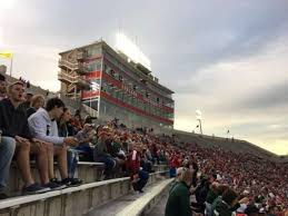 Memorial Stadium Indiana Section 102 Row 5 Seat 1 Home