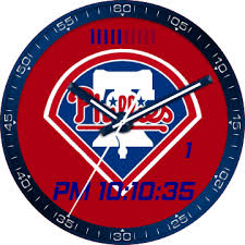 Philadelphia Phillies Logo Red for G Watch R - FaceRepo