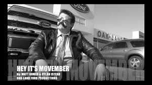 hey it s movember f 150 video oak land ford