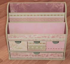 kaiser craft desk organiser decorated in the english rose collection