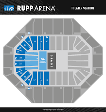 Disney On Ice Rupp Arena Seating Chart Seating Diagrams Rupp Arena