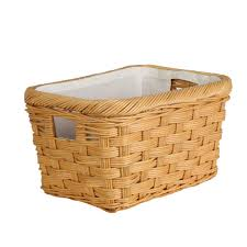 Rectangular Wicker Storage Basket - The Basket Lady