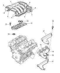 2007 chrysler 300 intake exhaust manifold diagram i2164331