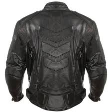advanced armored padded men s black motorcycle jacket