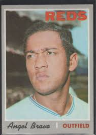 Amazon.com: 1970 Topps Angel Bravo Reds Baseball Card #283 ...