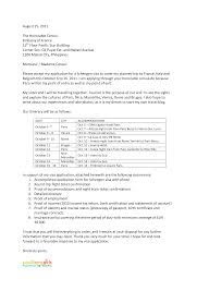 Best Solutions Of Sample Cover Letter For Student Visa Application