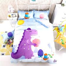 dinosaur bedding full kids dinosaur bedding cartoon dinosaur bedding sets queen size children bedspread kids boys bed set soft cute satin bed sheets linen