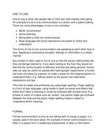 p effective communication unit developing effective btec level 3 national extended diploma in health and socia care unit 1 13 20 1 essay p1 effective communication