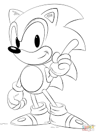 Small Picture Sonic coloring pages Free Coloring Pages