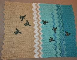 Crochet Turtle Blanket Pattern