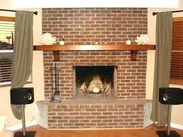 fireplace refacing refacing a brick fireplace with stone unusual ideas design resurface fireplace with stone fireplace