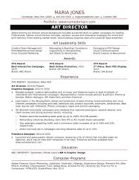 Art Director Resumes Sample Resume for a Midlevel Art Director Monster 1