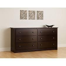 espresso 6 drawer dresser. Prepac Edenvale Dresser Espresso For Drawer