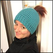 Ponytail Beanie Crochet Pattern Fascinating Crochet Ponytail Hat