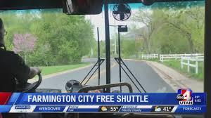Getting around on Farmington's Lagoon/ Station Park shuttle