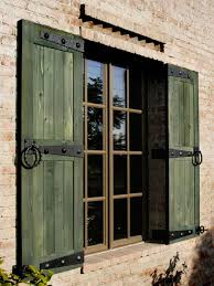 Diy Exterior Window Shutters Outfit Your Windows With Accessories Hgtv