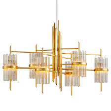symphony linear chandelier by corbett lighting