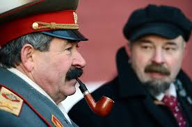 lenin and stalin lenins on sale again life as a lookalike leader on red square