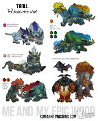 Troll Druid Color Chart Pin On World Of Warcraft