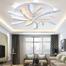 led home lighting fixtures new acrylic modern led ceiling lights for living room bedroom plafon led