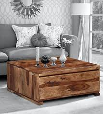 segur solid wood coffee table in