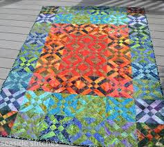seaside stitches blogger's quilt festival throw quilts  batik