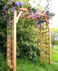 wooden garden arbor wooden garden arch garden arbor can make a difference to the entire landscape